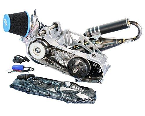 Course Moteur POLINI Evolution p.r.e. 70ccm 47,6mm pour MBK Nitro, Yamaha Aerox