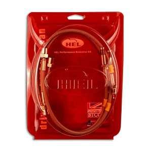 HEL Performance tressée lignes de frein pour Ford Focus MK21.8TDCI Frein de stationnement électronique (2004-)