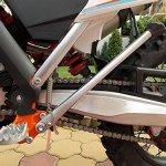 KTM, HUSQVARNA, HUSABERG, EXC/ EXC-F Béquille latérale S2 + complet 2008-2016 Gris