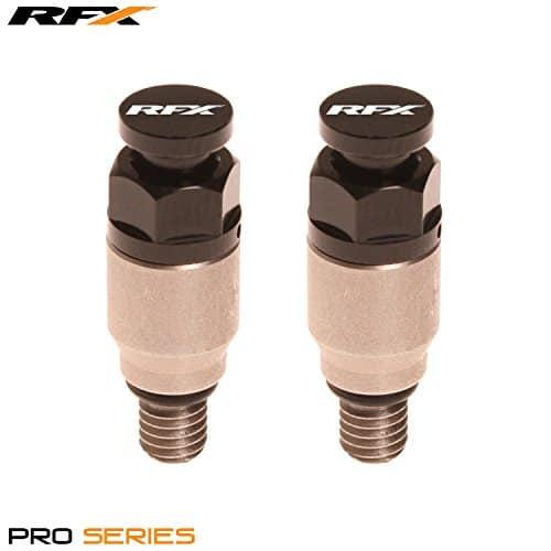 RFX Fxfb 102M599bk inoxydable Fourchette Air hémoglobine M5Kayaba/Showa, Inox/Noir, 0.8mm