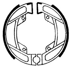 Ferodo mâchoires de frein fsb755(Frein à Tambour et mâchoires)/brake shoes fsb755(brake Drum And Clamping Jaws)
