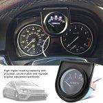 Qiilu Universel Numérique Jauge Température De L'eau Température 40-120 ℃ Gamme Mètre Car Styling Auto Instrument
