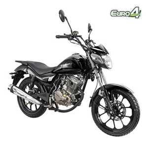 Moto roadster 125cc homologué Kiden KD125-K – Noir