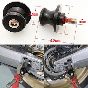 ViZe Diabolos Moto Vis de Support Pour Béquille Pour Kawasaki KTM Suzuki Honda (8 MM)