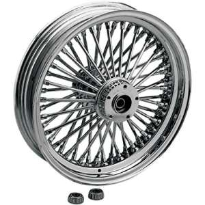 Fat daddy front wheel 16×3.5 single-disc chrome … – Drag specialties 02030249