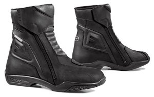 FORMA FORT65W9940 Bottes Moto Latino WP Homologuée CE, Noir, Taille 40