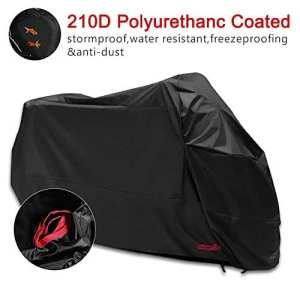 Housse de Protection pour Moto Couverture Imperméable en Polyester 210D