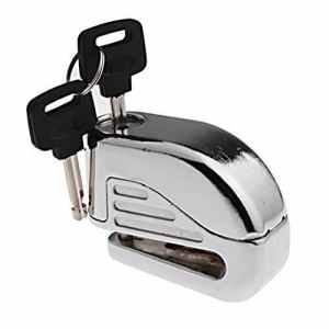 son anti voleur Alarme de sécurité Electron Verrou de frein à disque 6mm broches pour sécurité de moto Sport Vélo de course