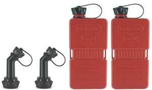 2x FuelFriend® PLUS 1.5 Litres avec Tube refermable! Réservoir à essence Réserve Moto Scooter …