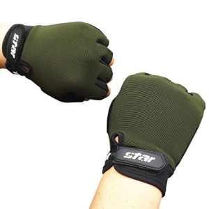 Homme AntidéRapant Gants Fitness Mouvement Ride Lolittas Garder Au Chaud Populaire Gants (Armée verte, XL)