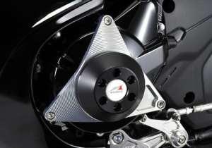 Agras Racing Slider 2points de Coque de Duracon: Blanc Bandit1250F ABS [Bandit] 342–397–002