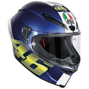 AGV Helmets Corsa R E2205 Top Plk,V46 Matt Bleu,XL