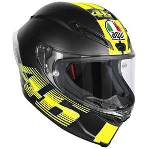 AGV Helmets Corsa R E2205 Top Plk,V46 Matt Noir,XS