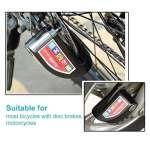 Echoice Antivol Moto 110db 6mm Bloc Disque Moto Alarme Imperméable Safe Robuste Et des Batteries de Remplacement Gratuit per Bicyclette,Moto