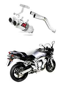 Exhaust Mad YAMAHA FZ6 Dominator FAZER 600 S2 2004-DB KILLER ROUND