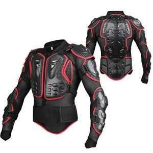 GES Complète du Corps Veste protection Body Armour Motocross sport Veste de protectio