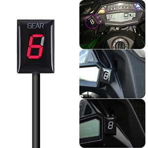 IDEA Indicateur de rapport de vitesse étanche pour moto avec écran LED Para Kawasaki