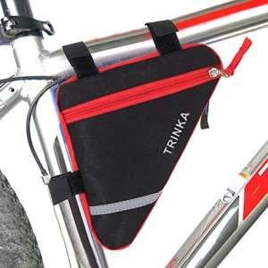 Enjoyall Sacoche Vélo, Sacoche de Selle Imperméable, Sac Rangement pour Cyclisme Randonnée