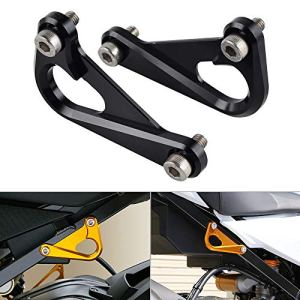H2Racing Noir CNC Alloy Surbframe Racing Performance Hook Clutch Quadrant Supports pour S1000RR 2010-2017,S1000R 2014-2017