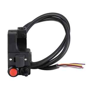 Interrupteur Pour Guidon de moto, keenso Universel Moto Guidon Montage Commutateur/Phare / Clignotant pour Guidon 7/8″ 22mm
