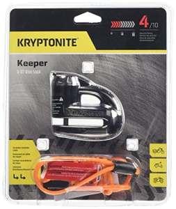 Kryptonite 720018000877Keeper 5-s2Chrome Cadenas à Disque, 720018000877, Noir
