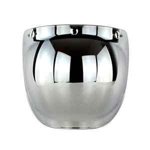 Lentille de casque Pour casque moto harley davidson vintage Anti-éblouissement Coupe-vent Trois Boutons-pression avec Cadre