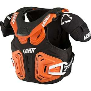 1018010021 – Leatt Fusion 2.0 Youth Neck Vest S/M Orange