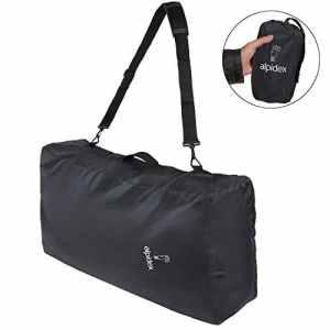 ALPIDEX Sac Bivouac Universel Protection Flight Bag 80 litres avec bandoulière, oeillet pour Cadenas, poignée de Transport, Sacoche intérieure et Rangement