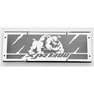 cache radiateur / grille de radiateur Yamaha 1300 XJR «Bulldog» + grillage noir