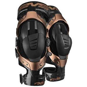 EVS Genouilleres Axis Pro Black Copper-XL