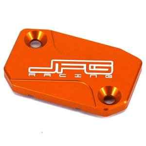JFG RACING Bouchon de réservoir d'embrayage avant pour moto – KTM 125 150 200 250 300 350 400 450 500 505 525 530 SX SXF EXC XCF XC XCW XCF-W EXC-F SXR EXC-R SMR 06-16 Orange