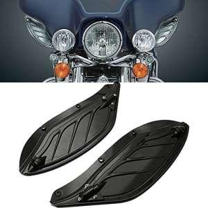 League & Co Moto quelques luftabweiser Revêtement Page ailes Couvercle fairing Side Wings Air deflectors pour Harley Touring flhx Flht flhx 1996–20132012201120102009