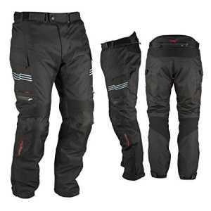 Moto Pantalon Impermeable Thermique Protections CE Thermique Noir 30