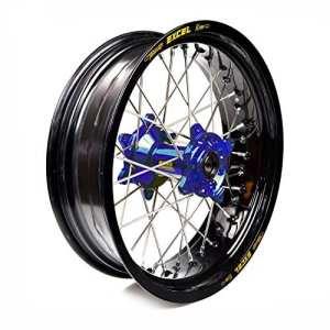 Haan Wheels-61719 : roue complète Haan Wheels Bague Noir 17-5,50 moyeu 56010 Blue 1/3/5
