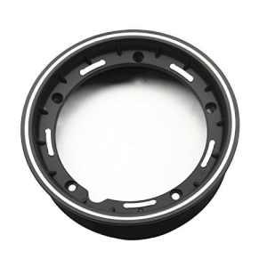 Jante alu jante alu jante roue PX 125 150 200 LML Star T5 rallye 10″(Black silver edge)