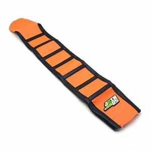 JFGRACING Orange / Noir Gripper housse selle moto Pour 85 105 125 150 200 250 300 350 450 500 525 SX SXF EXC XCW 11-15