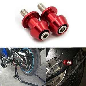 ViZe Diabolos Moto Vis de Support Pour Kawasaki KTM Suzuki Honda (Rouge, 8mm)