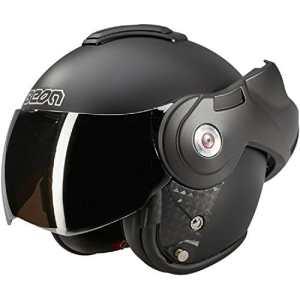 Beon B702 Reverse Noir mat Casque à visière – Casque moto – M