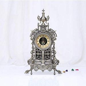 LIJIANGUO Horloges Mécaniques en Métal Anciennes Canons Et Horloges