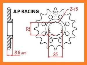 PIGNON 13 DENTS KIT CHAINE POUR KTM 125 SX 250 EXC 250 SXF 300 EXC JLP RACING