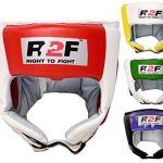 R2F Sports Casque De Boxe MMA Grille Protection Tête Muay Thai Entraînement Arts Martiaux UFC Large / XL