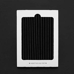 1 Pcs Filtres à air de réfrigérateur Frigidaire Pure Air Ultra de rechange pour Electrolux à comparer avec la pièce EAFCBF PAULTRA 242061001 – Noir