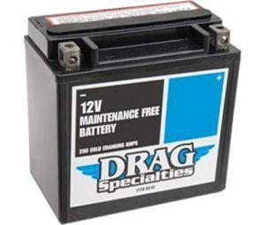 HARLEY DAVIDSON XL 883-XL 1200-BATTERIE DRAG SPECIALITIES DTX14L-BS-EU-2113-0467