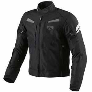 Jet Motorcycle Wear JET Blouson moto imperméable avec armure veste moto multi fonctionnel textile noir