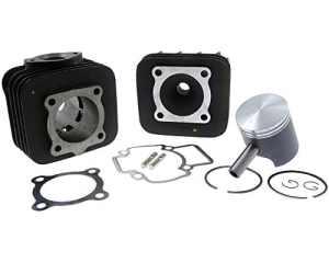 Kit cylindre 70cc TOP PERFORMANCES Trophy Black pour PIAGGIO Zip Fast Rider 50cc, RST, VESPA ET2, LX
