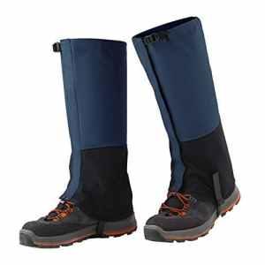 Mallalah Guêtres Extérieures Imperméables Outdoor Marche Escalade Neige Legging Activités Extérieures Protection Haute Contre Pluie ou Boue