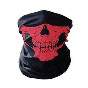 Masque de protection anti-poussière pour snowboard, ski, moto, vélo – Cache-nez en polyester – Bandana de moto – Foulard