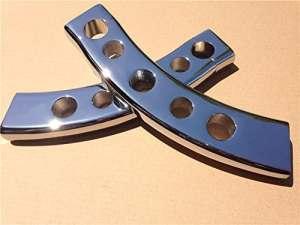 New 2,5cm Drop rehausseurs de guidon pour 2006–2009Suzuki Boulevard M109r Chrome