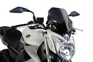 Puig 5026F Pare-Brise pour Yamaha XJ6 ABS/2009-2014, fumé foncé Taille M