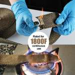 15M*50mm Ruban Isolant Thermique en Titanium Magma + 15 Collier Serrage Autobloquant Noir en Inox pour Tuyeau Collecteur Echappement Moto Bande Isolante Thermique